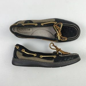 Sperry Gold Boat Shoes C4313258